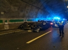 Accident tunnel A1 26.10.18